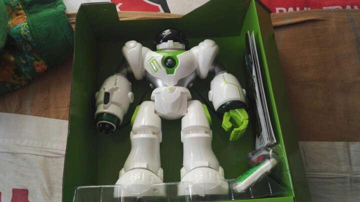 盈佳(AMWELL)新威尔智能遥控机器人玩具充电电动X机械战警编程跳舞儿童 5088机器人-大型35CM身高 晒单图