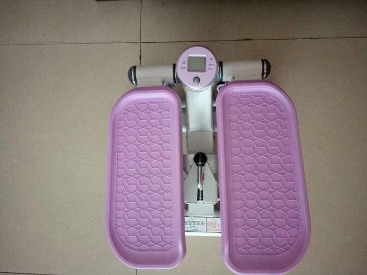 韩国踏步机 家用静音减肥扭腰机脚踏机多功能迷你踩踏机健身器材 紫罗兰 晒单图
