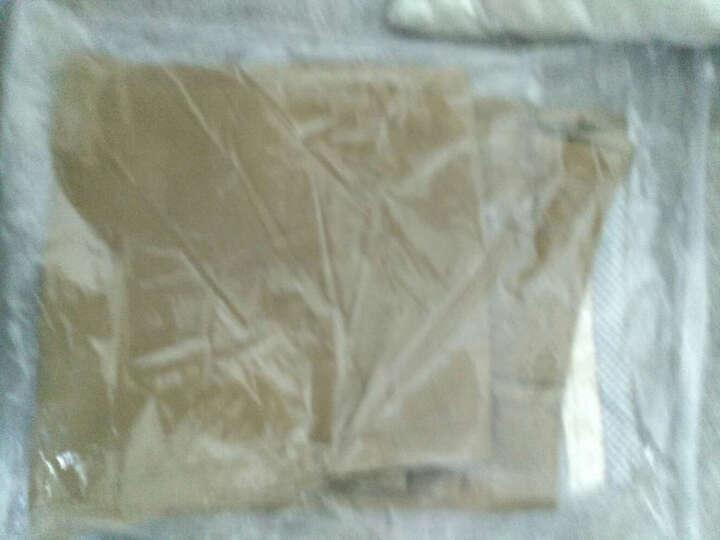南极人 (Nanjiren) 休闲裤 男士休闲直筒修身款长裤子韩版纯色大码男装 16042NJ833 黑色40 晒单图