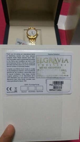 浪琴(Longines)瑞士手表 瑰丽系列机械情侣表女表L4.321.2.11.8 晒单图
