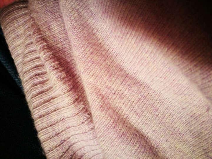 思诺芙德秋冬女装新品山羊绒衫女时尚套头圆领打底衫百搭修身毛衣 珊瑚红 100/M 晒单图