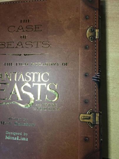The Case of Beasts  Explore the Film 神奇动物在哪里电影魔法书 英文原版 晒单图