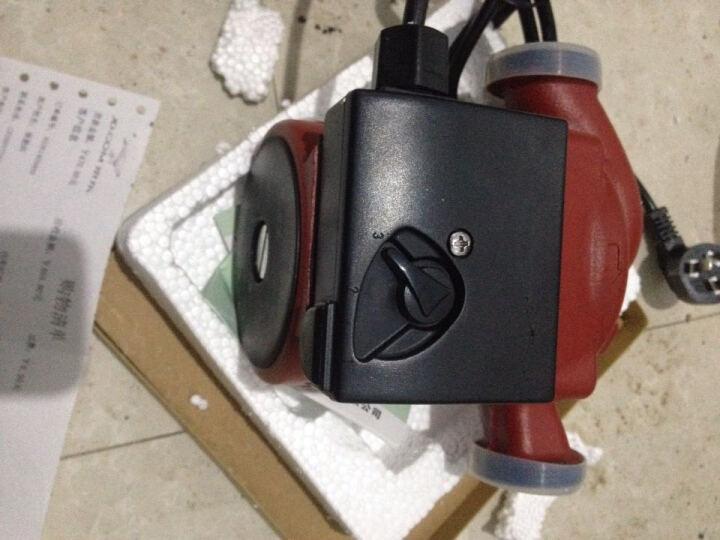 格威特温控UPS地暖循环泵 暖气热水加压泵 静音 屏蔽泵 热水循环管道水泵 UPS25-125(1寸320W) 晒单图