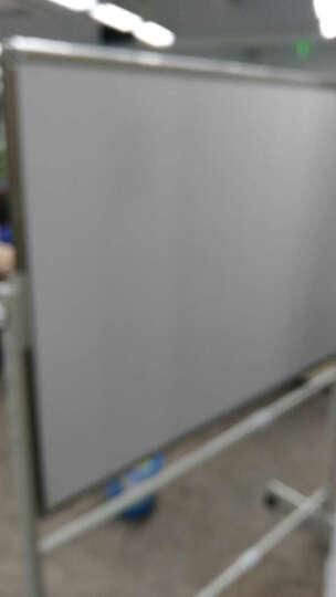 丽博士  白板 黑板 移动  架子 看板 办公 会议 教学 培训  磁性 写字板  书写 90*120cmN双面白板 晒单图