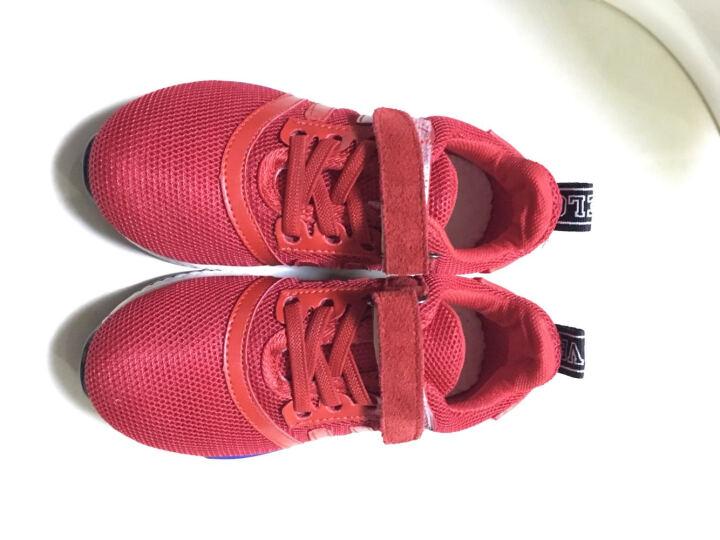 特能仔(TE NENG ZAI) 特能仔童鞋儿童运动鞋男童网鞋透气小孩鞋女童休闲鞋跑步鞋 单网款-绿色 28/内长18.5CM 晒单图
