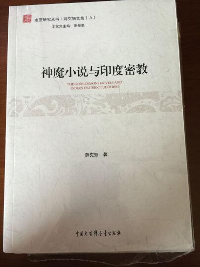 南亚研究丛书·薛克翘文集 神魔小说与印度密教 晒单图