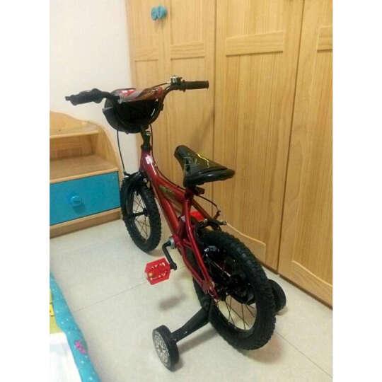 迪士尼(DISNEY) 儿童自行车男女孩14寸16寸赛车总动员轮胎盒热卖单车童车3岁8岁 赛车总动员轮胎小提包 14寸 晒单图