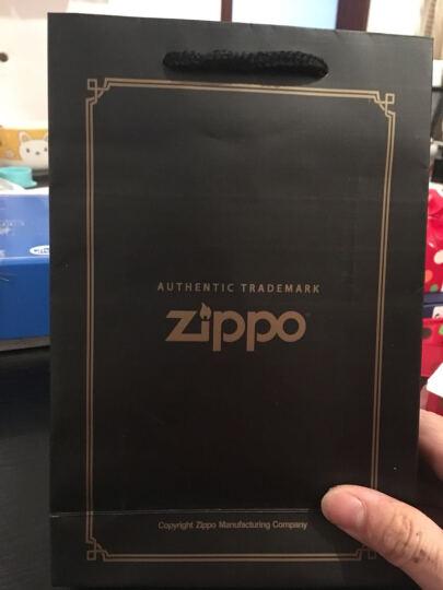 zippo打火机zippo正版 美国原装之宝正品 纯铜防风  经典黑冰刻花 P-情书 晒单图