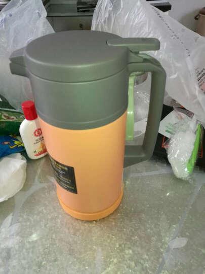象印(ZO JIRUSHI) 保温壶SH-JAE15进口不锈钢真空保温瓶暖水壶1.5L DA杏黄色 晒单图