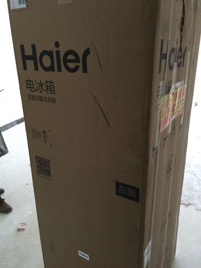 海尔(Haier)328升冰箱两门 双变频 双门 风冷无霜 干湿分储画沙面板BCD-328WDGF 晒单图