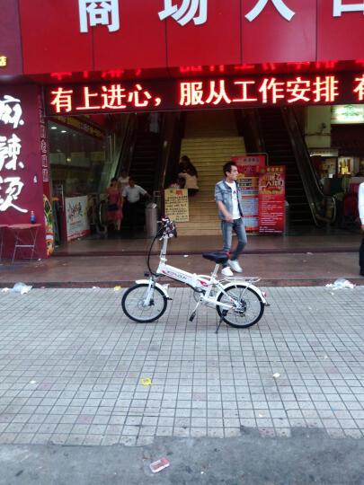 沃普顿(Wopudun) 沃普顿16寸电动自行车 亲子外卖电瓶车 电动车 锂电助力车真空轮胎 亲子款经典蓝(18A)+遥控 晒单图