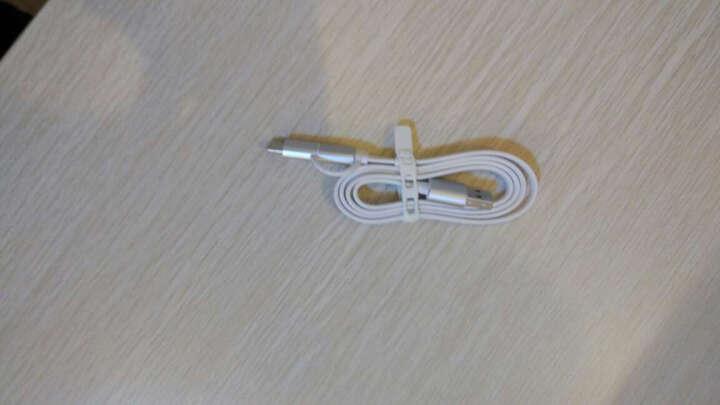 乐视 (Letv ) 乐视原装二合一快充数据线 Micro USB/Type-C 2.0安卓手机数据线/充电线/连接线 银色80cm 晒单图