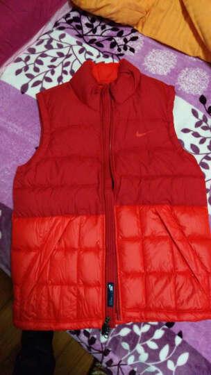耐克Nike男装 冬款运动休闲保暖羽绒马甲背心626923 541465-600 XL 晒单图