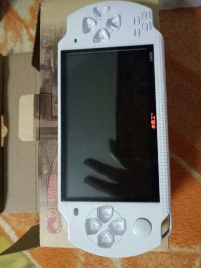 小霸王儿童玩具掌上psp游戏机S800彩屏GBA掌机电玩怀旧经典街机学习机 白色 晒单图