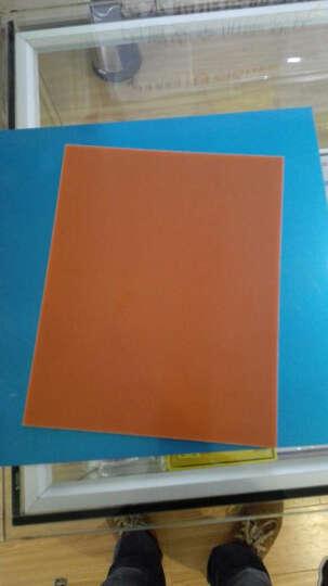 圣吉利 橘红色电木板 胶木板 绝缘板 材料加工切割 200*250*5.0mm 晒单图