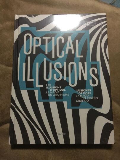 《Optical Illusions 错视之美》+《对话日本设计》套装平面视觉设计书籍 晒单图