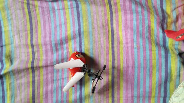 儿童电动玩具遥控感应双模式小黄人迷你直升飞机悬浮充电重力飞行器耐摔无人机加强遥控 直升机 | 加速感应双模式小黄人红裤 晒单图