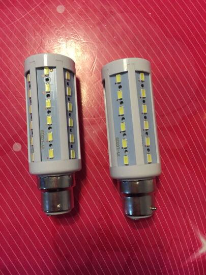 创华星LED灯泡节能灯玉米灯e14家用照明超亮E27螺口LAMP5w12w B22白光   用于老式的卡口灯泡 15W 晒单图