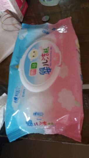 强生(Johnson) 婴儿护肤湿巾80片*3 娇嫩倍护新生儿适用无香精湿纸巾 晒单图