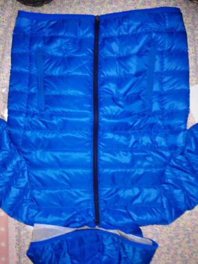 巴拉巴拉童装男童女童羽绒服中大童上衣冬装新款儿童轻薄羽绒外套 湖蓝 130 晒单图