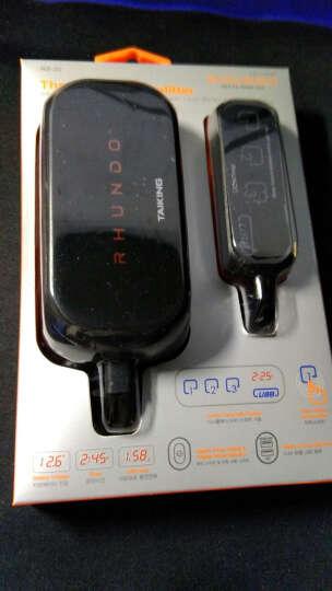 TAILING   RHUNDO触摸感应带总开关点烟器一拖三车充电器车载电源 触感式一拖三点烟器 晒单图