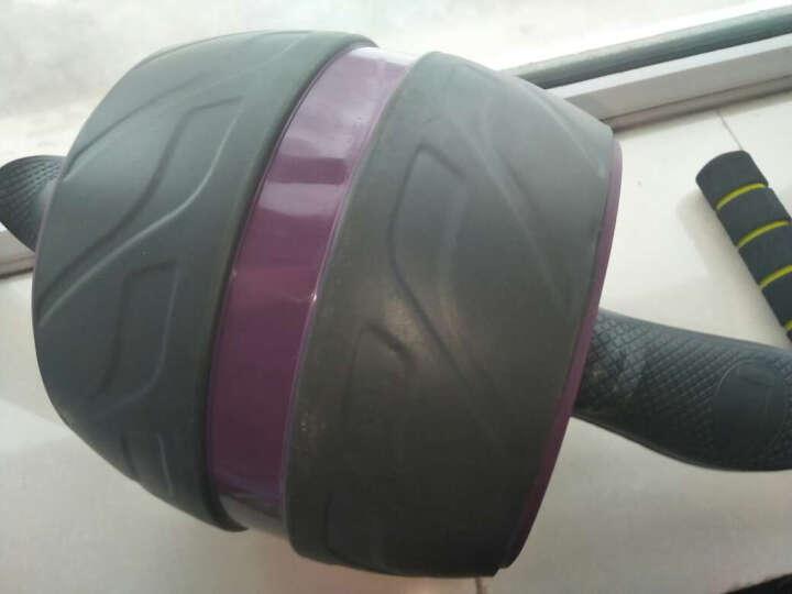 美力信健腹轮巨轮腹肌器俯卧撑支架组合 紫色豪华款 晒单图