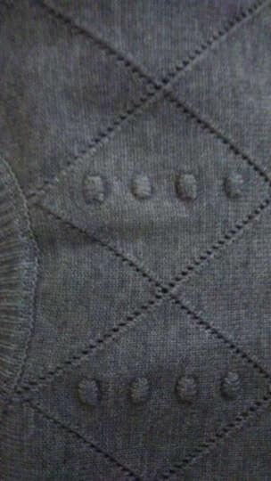 贝蕾曼 2018秋冬新款毛衣针织衫女套头加厚韩版中长款修身打底长袖A5809 姜黄色 S(建议85-105斤) 晒单图