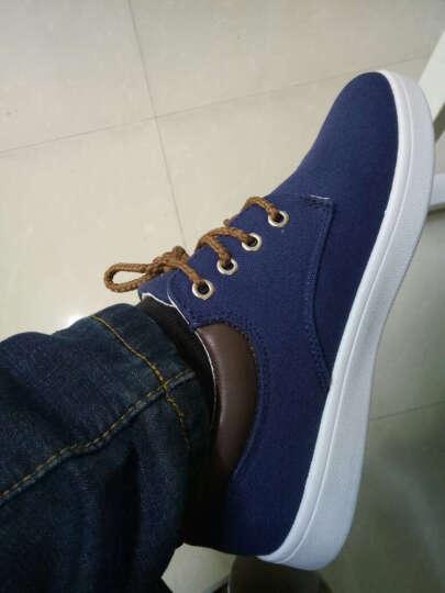 策乐(CELE)男鞋休闲鞋 户外运动板鞋 男士帆布鞋休闲皮鞋 乐福鞋 C36/黑色 43 晒单图