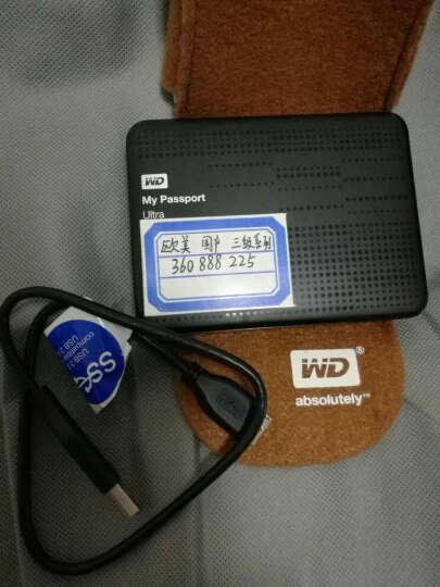 西部数据(WD)My Passport Ultra周年纪念版USB3.0 1TB 超便携移动硬盘 (金色)WDBTYH0010BCG 晒单图