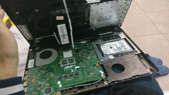 九晶华硕笔记本电脑S550 A550JK Y481C F450J K55DP光驱固态机械硬盘托架支架 晒单图