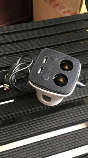 福鹿 车载充电器车充点烟器一拖二电压监测能量杯 点烟器电源监测能量杯 晒单图