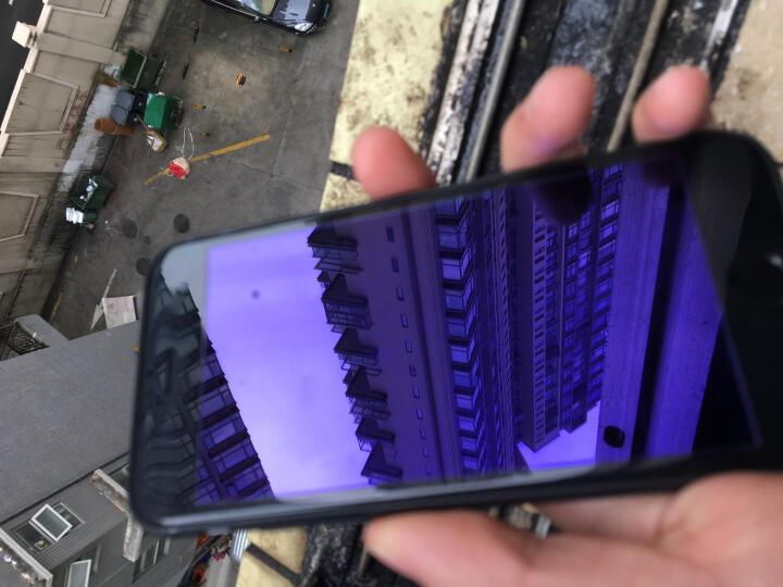 慕臣 苹果7Plus钢化膜iPhone7全屏全覆盖3D抗蓝光手机高清贴膜 3D全屏钢化贴膜(5.5英寸)-中国红 晒单图