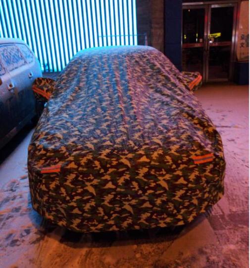 兵尼兔车衣车衣罩车罩汽车遮阳防晒防雨雪铝箔2L福克斯高尔夫6骐达宝马1系等具体以车型匹配结果为准 晒单图