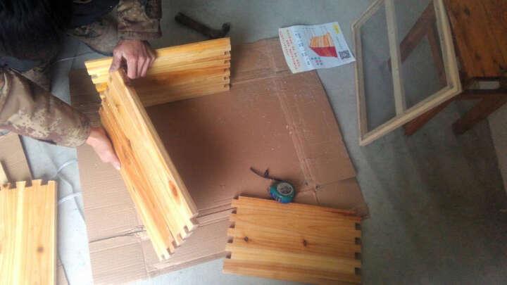 养蜂工具养蜂耗材蜂箱中蜂箱蜂巢蜂础中蜂巢础巢基蜜蜂蜂巢巢框套餐 连体12孔加厚防蜂服 XXL号 适合195cm以下 晒单图