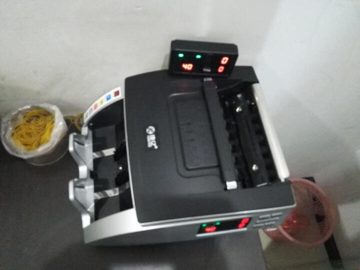 康亿(KONYEE)2019新版人民币 JBYD-Q669B 全新版 银行专用双屏显示全智能鉴伪点验钞机(5个磁头6对红外) 晒单图