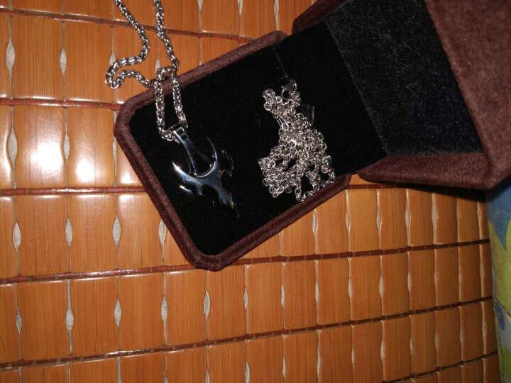 FateLove时尚饰品 欧美火焰变形金刚男士项链 潮流炫酷项链男款 简约个性吊坠 晒单图