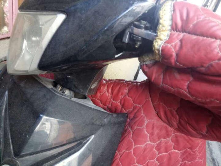 沃达迈摩托车配件巧格福喜鬼火迅鹰祖玛骠骑雷霆王摩托踏板车前后刹车碟刹 上泵 油泵 改装 后刹左边上泵单根 晒单图