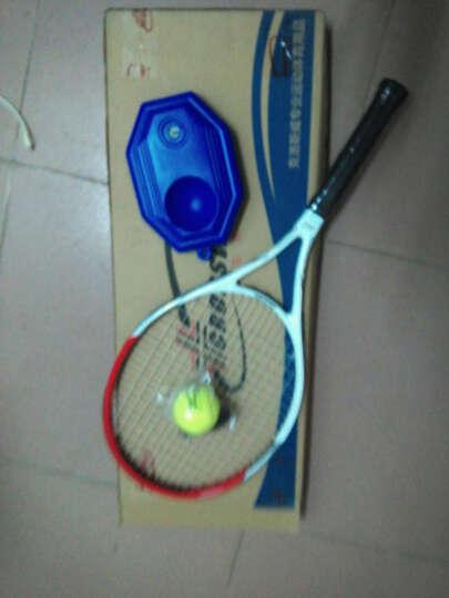 克洛斯威网球拍720初学者/初级进阶单拍专业训练比赛男女网拍 带拍包已穿线 (730S升级款)绿白色 晒单图