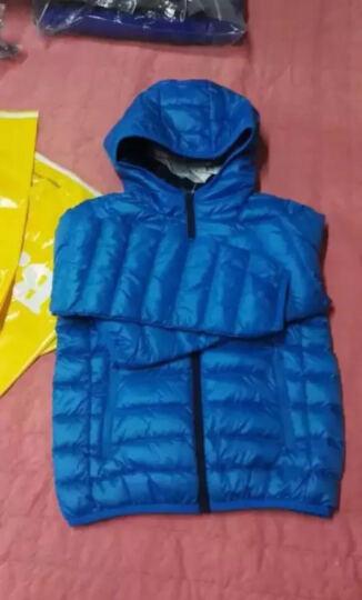 巴拉巴拉童装男童女童羽绒服中大童上衣冬装新款儿童轻薄羽绒外套 玫红 120幼童 晒单图