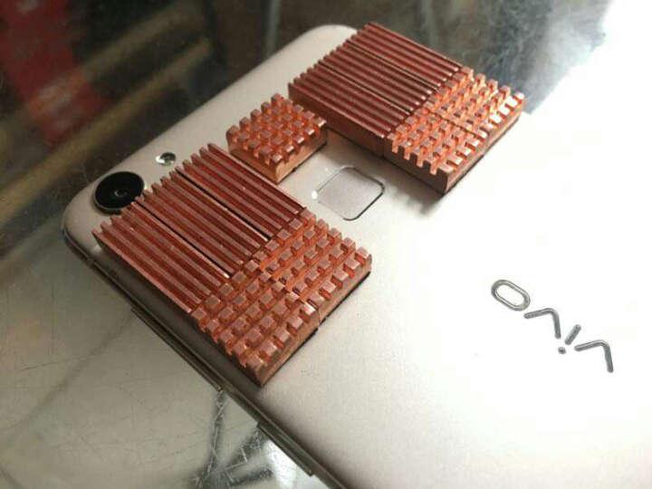 超频三(PCCOOLER)金鱼 显卡显存散热片(纯铜内存散热片/南桥北桥主板/笔记本散热片/带背胶) 晒单图