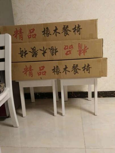春巢家居(CHUNCHAO) 春巢  折叠伸缩餐桌圆桌  实木餐桌椅组合 白色地中海餐桌 地中海/1.38米 一桌六椅【包安装】 晒单图