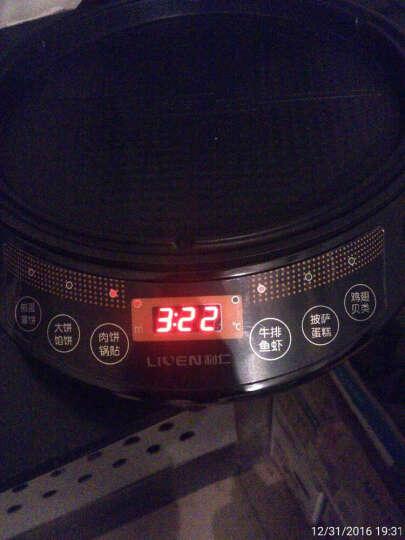 利仁(Liven)电饼铛家用双面加热煎烤机LR-D2801 晒单图