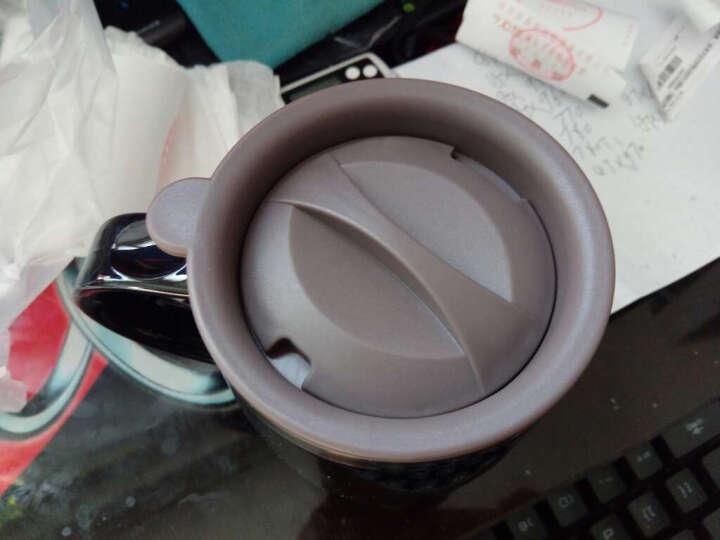 史努比(SNOOPY)办公保温杯水杯420ML可爱杯子情侣杯 DP-58002H 黑色 晒单图