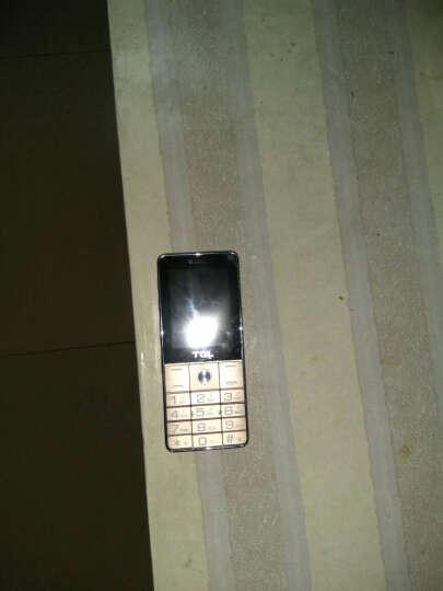 TCL CF189 电信老人手机老人机 黑色 晒单图