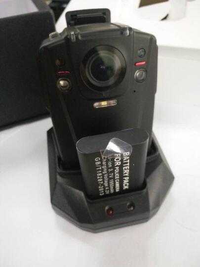 影卫达4G执法记录仪1080P视频实时无线传输WIFI执法仪连续录像12小时可换双电池 4G三网通 16G 底座 晒单图