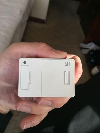 小蚁(YI)运动相机 电池增强版(都市白) 晒单图