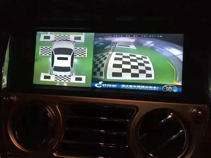 360度全景行车记录仪 高清隐藏式专车专用倒车影像 停车监控夜视广角无缝鸟瞰 24小时监控 1080P专车专用+星空夜视+原车解码器 晒单图