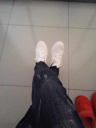 【大牌疯抢 限时秒杀】 MOYE品牌自营 潮牌定制 大牌正品 休闲小白鞋 J02白色 37 晒单图