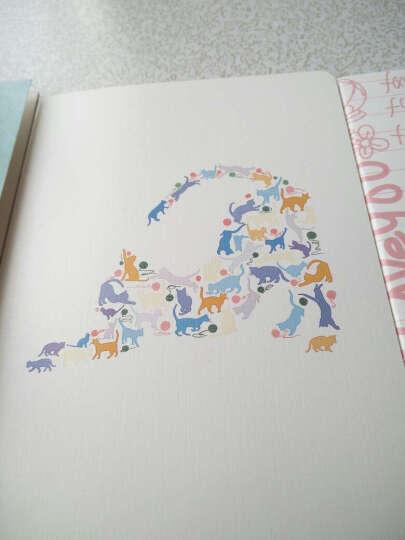 三年二班韩国文具笔记本可爱创意日记本记事本a5本子办公用品单本随机 雨夜沉思 晒单图