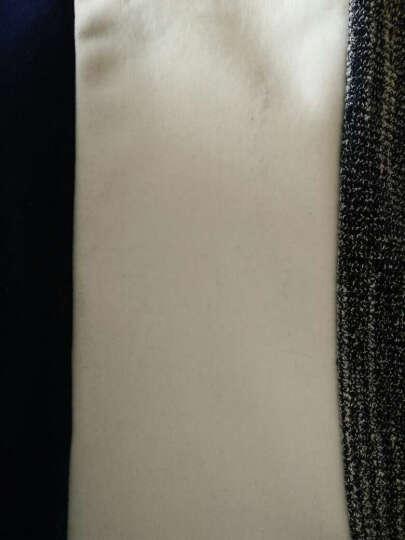 GALOJA春款短袖t恤男韩版修身男士打底衫圆领纯色T恤男装休闲衣服男Y336 白色 L 晒单图
